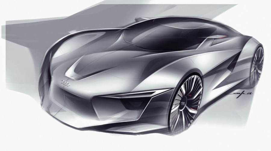 Audi Concept Design Sketch by Young Joon Suh   Car Body Design Audi Concept Design Sketch by Young Joon Suh