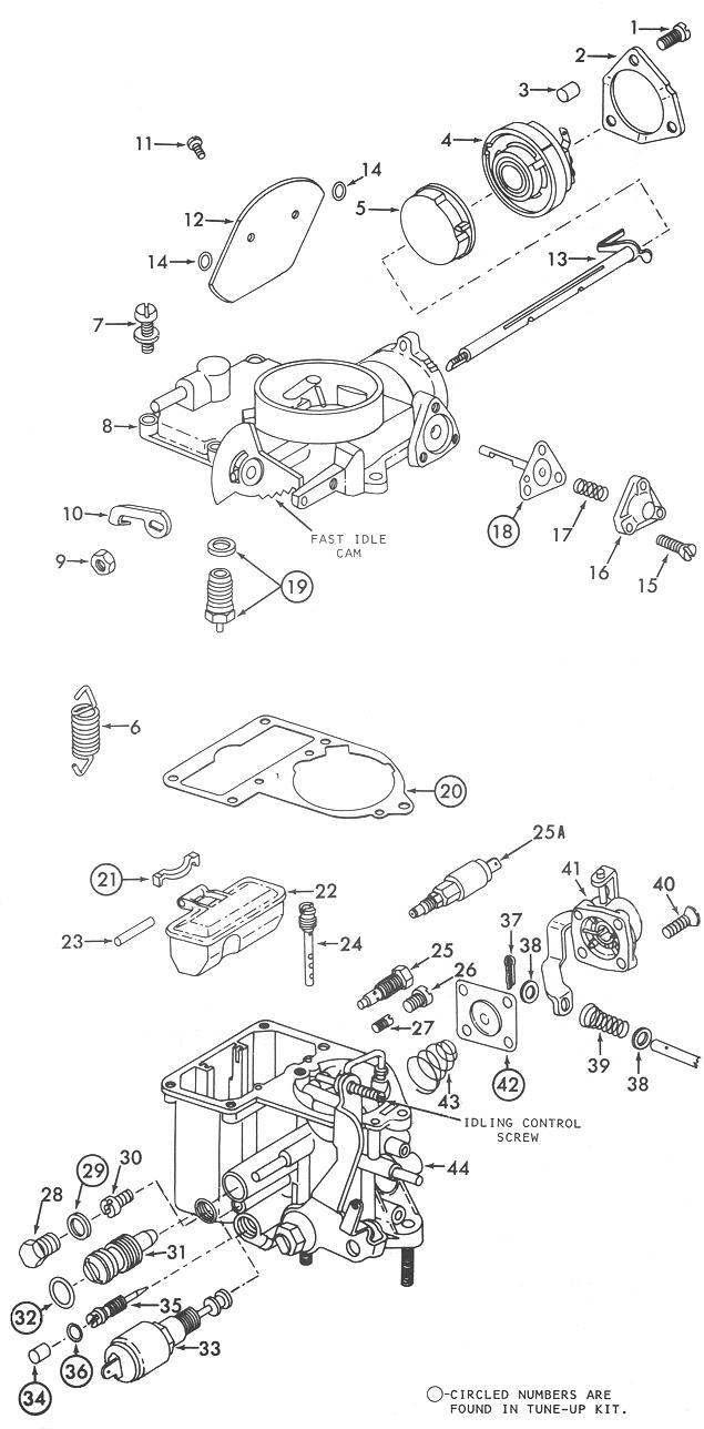 Mikuni Kogyo Carburetor Diagram