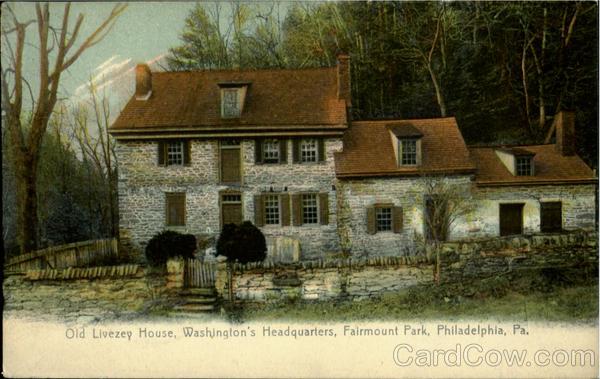 Old Livezey House Fairmount Park Philadelphia Pa