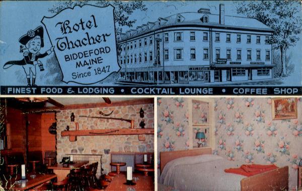 The Thacher Hotel Biddeford Me