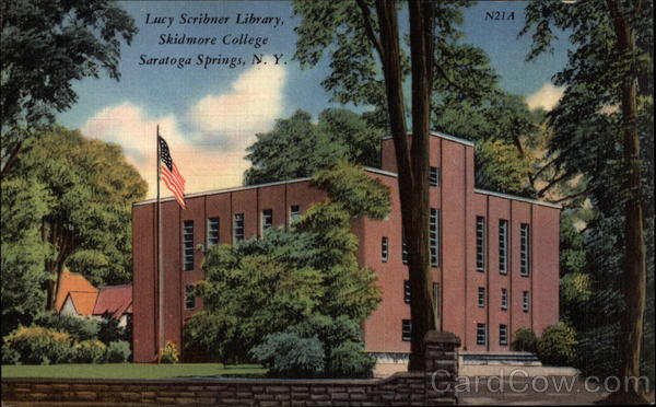 Lucy Scribner Library Skidmore College Saratoga Springs Ny