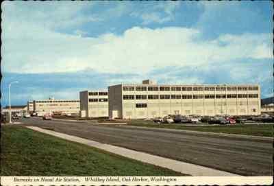 Barracks on Naval Air Station Oak Harbor, WA