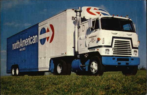 North American Van Lines Trucks