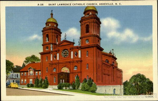 Saint Lawerence Catholic Church Asheville Nc