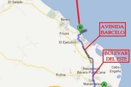 punta cana international airport map punta del este » Another Maps ...