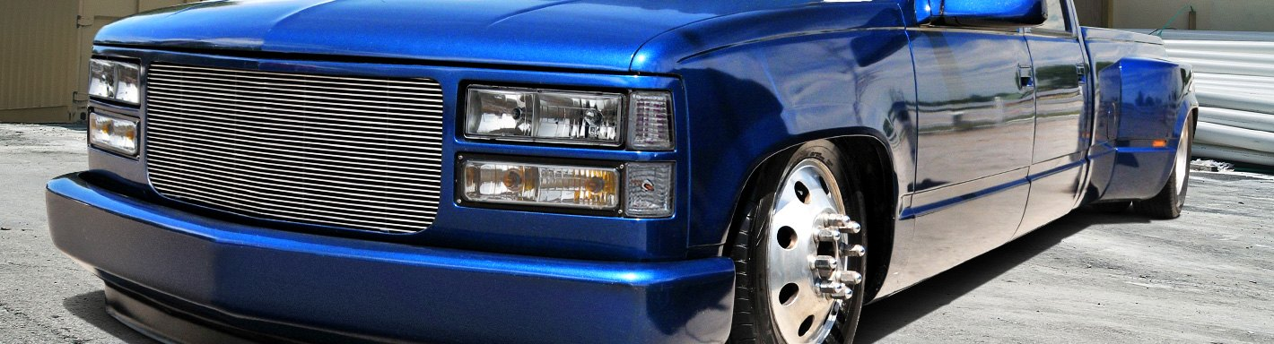 2000 Blue Chevy 2500 Single Cab