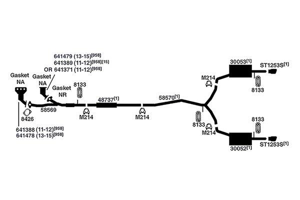 2012 Ford Fusion Parts Diagram