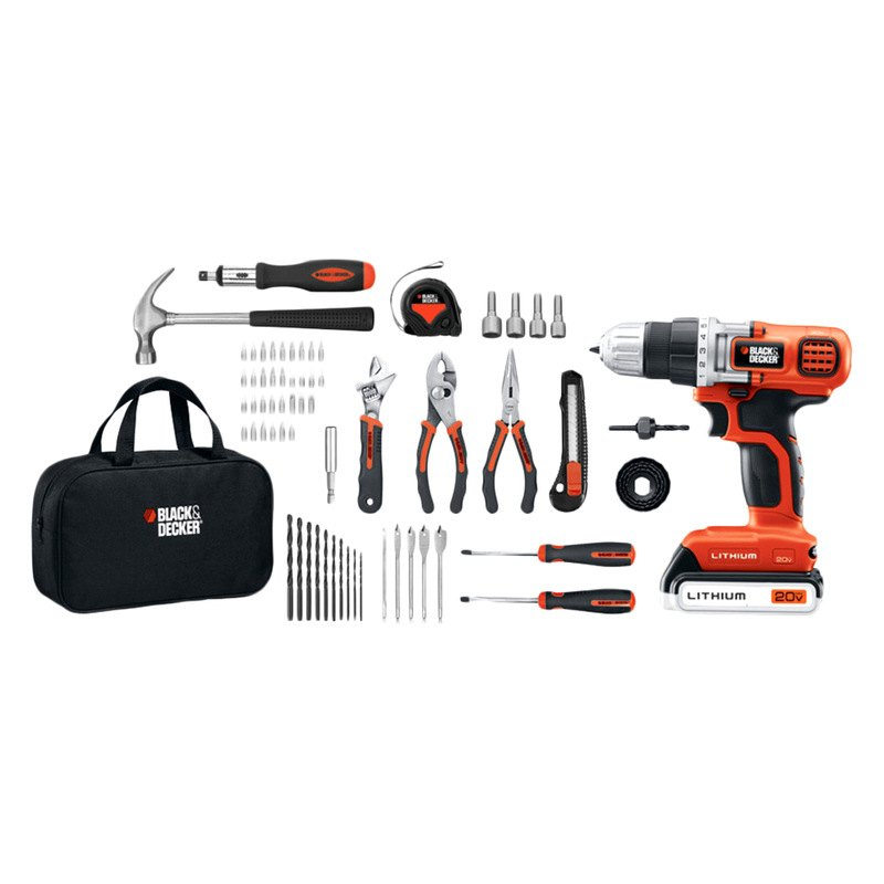 Black & Decker® LDX120PK - 20V MAX Lithium Drill and ...