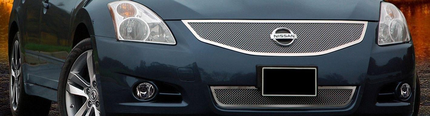 2010 Maxima Grille Nissan Black Black Billet