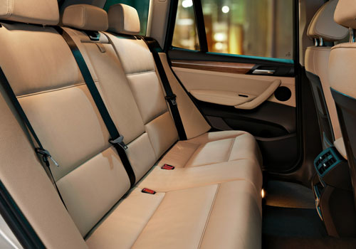 Bmw X3 Rear Seats Interior Picture Carkhabri Com