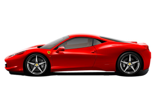 Ferrari 458 Italia Front Angle Side View Exterior Picture ...
