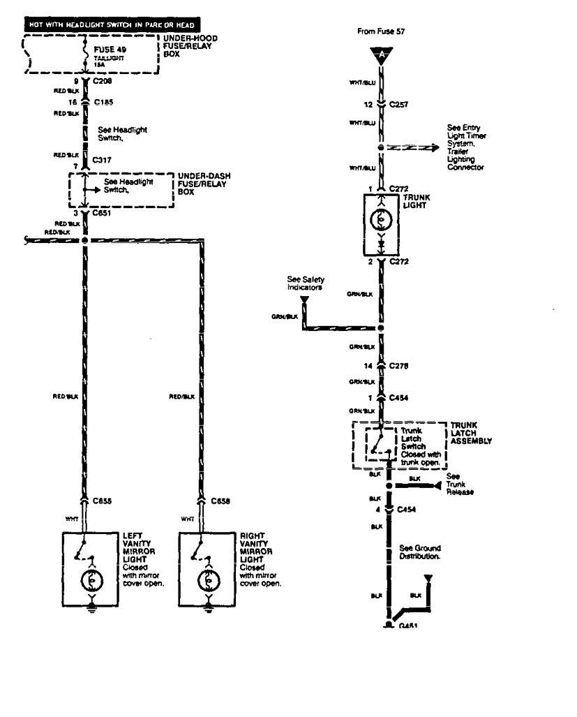 Acura Vigor Wiring Diagram Free Install Centurylink Internet Fuse Box Reading Download Xwiaw Legend Lamp V2 2 1994 Wk43294html