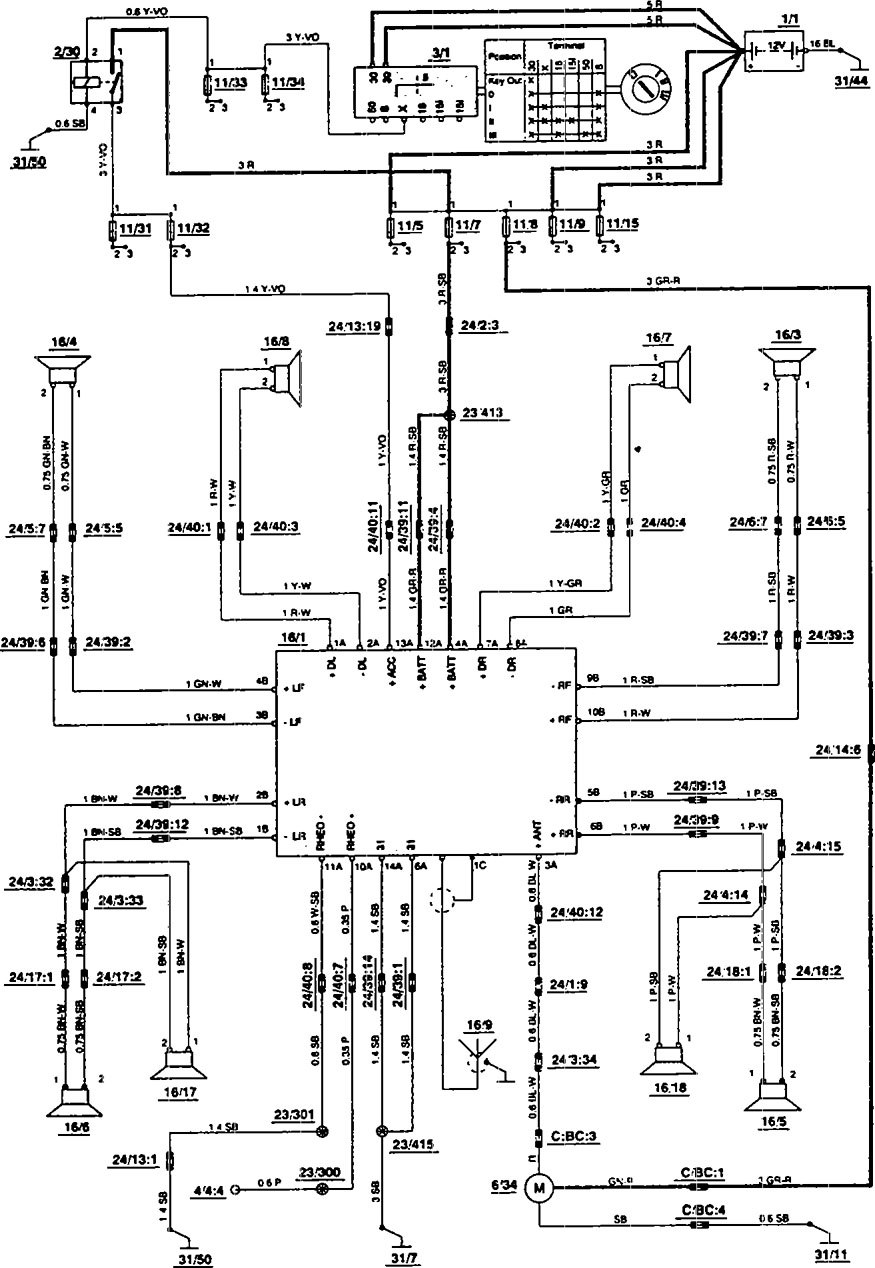 Fantastic volvo 850 wiring diagram adornment electrical diagram