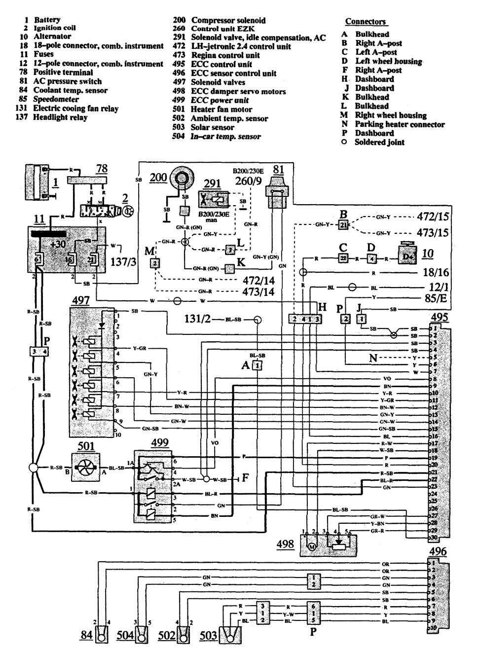 volvo 940 wiring diagram all wiring diagram Volvo Fuel Pump Wiring Diagram
