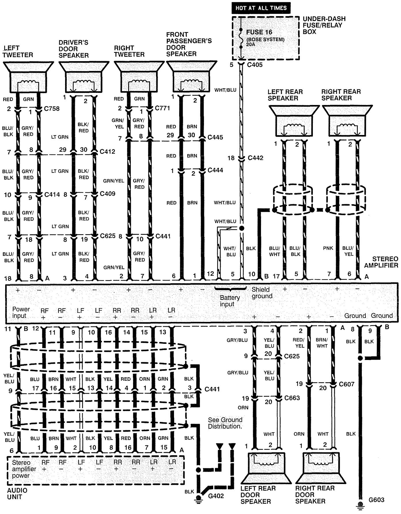 Cool wiring diagram for 1997 acura rl gallery electrical circuit