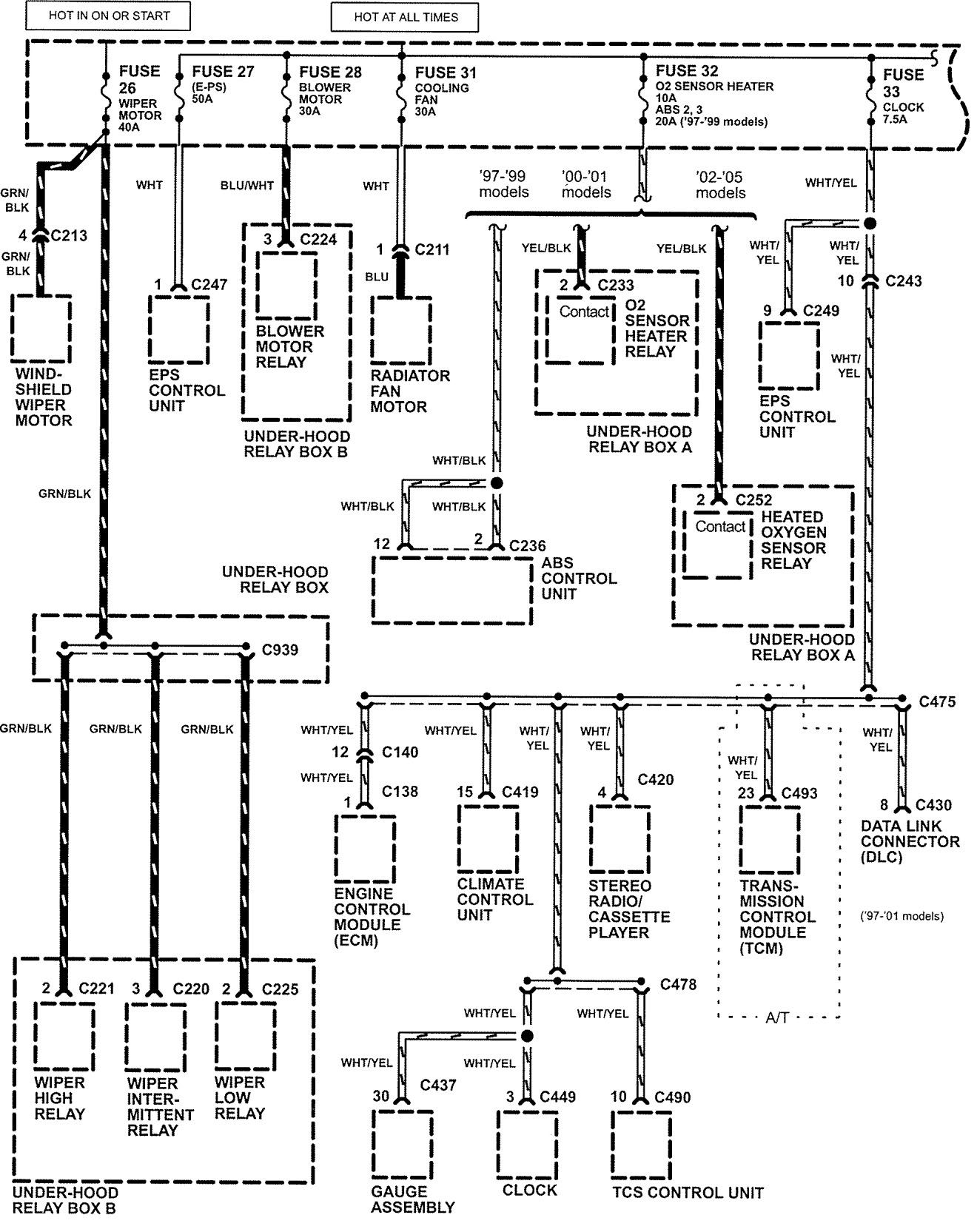 2001 Ford Windstar Fuse Box Diagram 2001 Free Engine Image For User