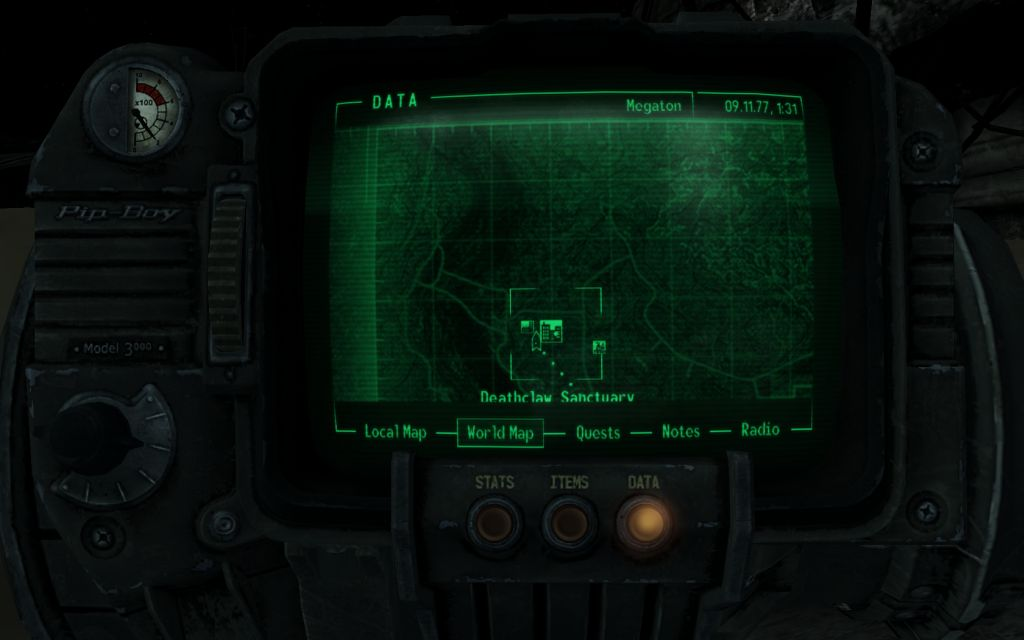 fallout map with all locations volkswagen