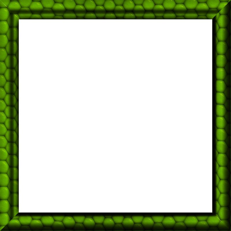 Free Border Graphics - Green - Black - White