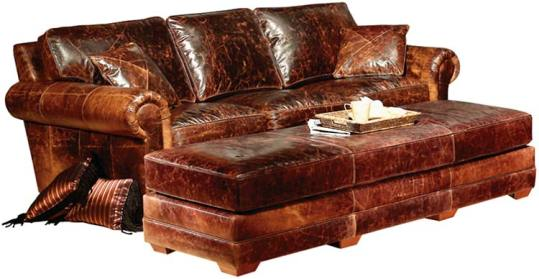 Top Grain Leather Sofa  Carolina Leather Furniture  Pineville Leather Sofas Sectionals