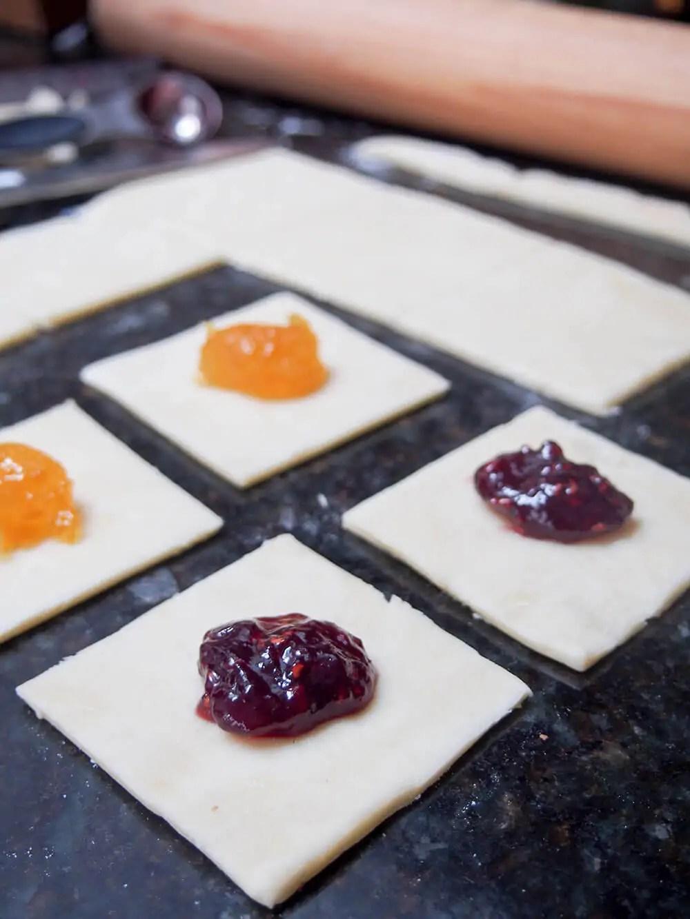 Kolache cookies - Caroline's Cooking