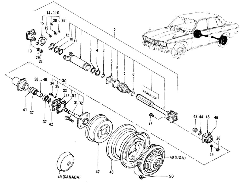 Datsun 280zx transmission