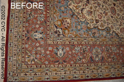carpet dyeing  Faded Area Rug   Discovery1 We know after you see the amazing results  you will want us to dye for you   so why buy when you can dye
