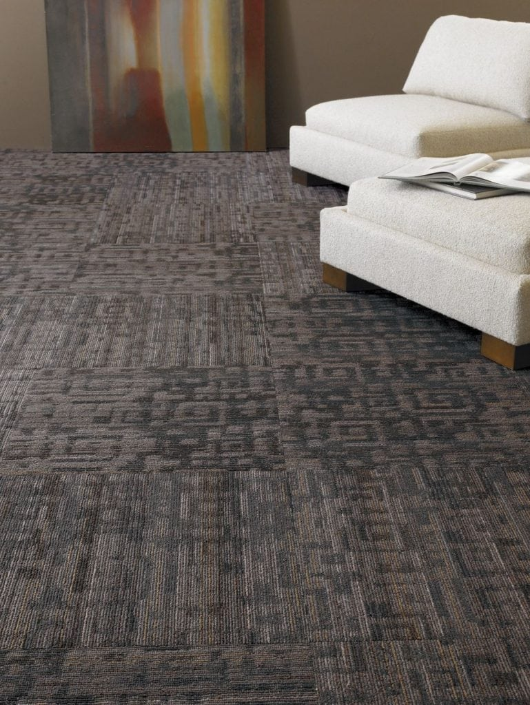 Fanatic By Shaw Queen Tile Nylon Commercial Carpet