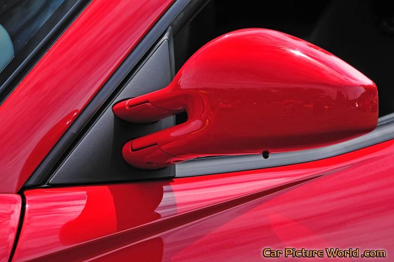 Red Ferrari 599 Side Mirror