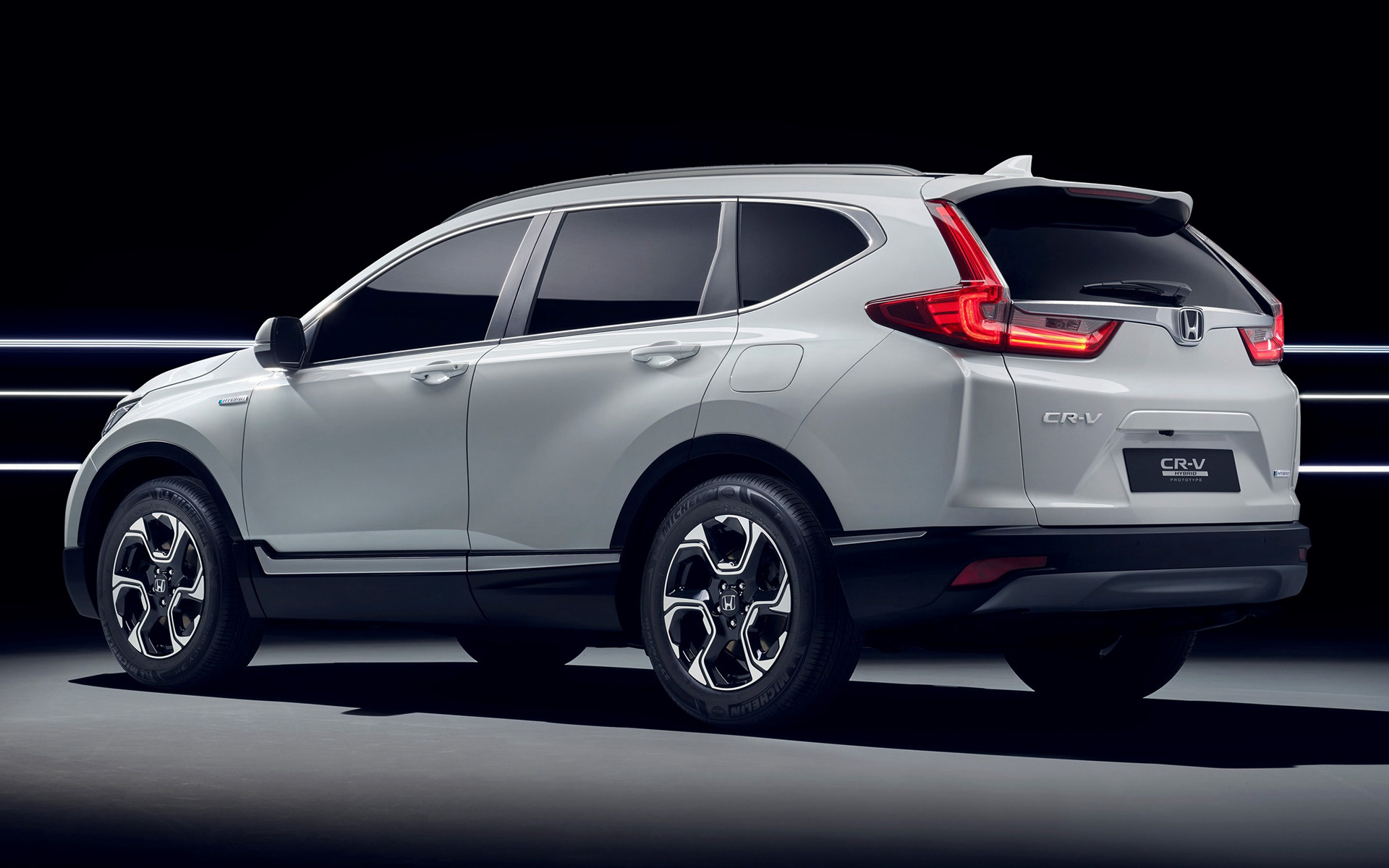 2017 Honda Cr V Hybrid Prototype Wallpapers And Hd