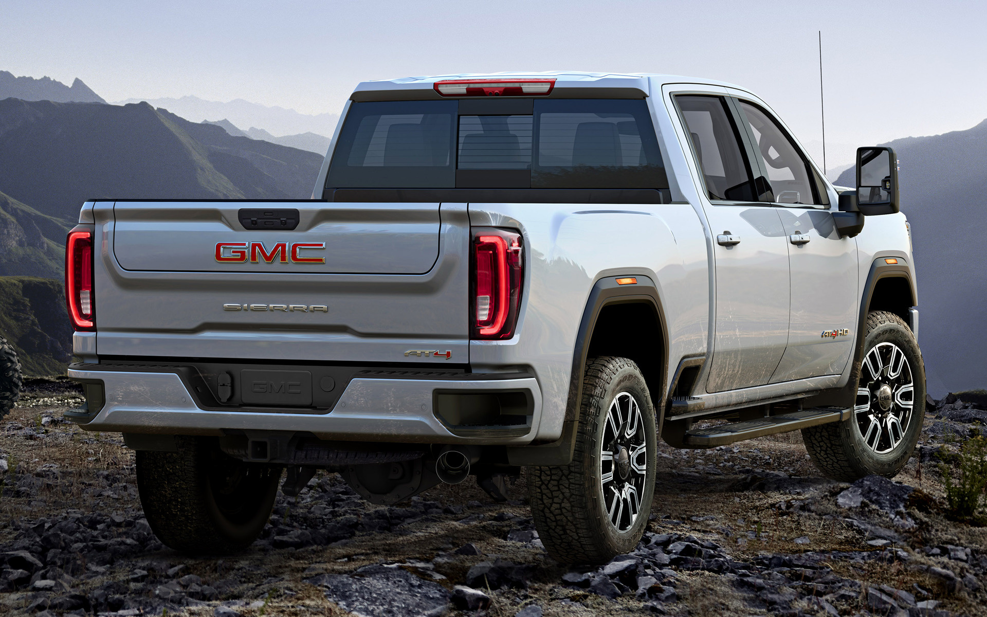 2020 Gmc Sierra 2500 Hd At4 Crew Cab Wallpapers And Hd
