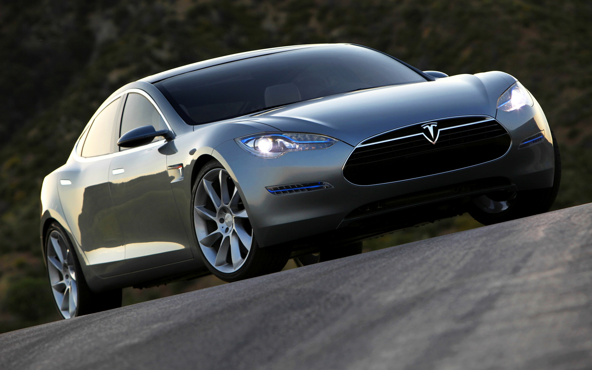 2009 Tesla Model S Concept Wallpapers And Hd Images