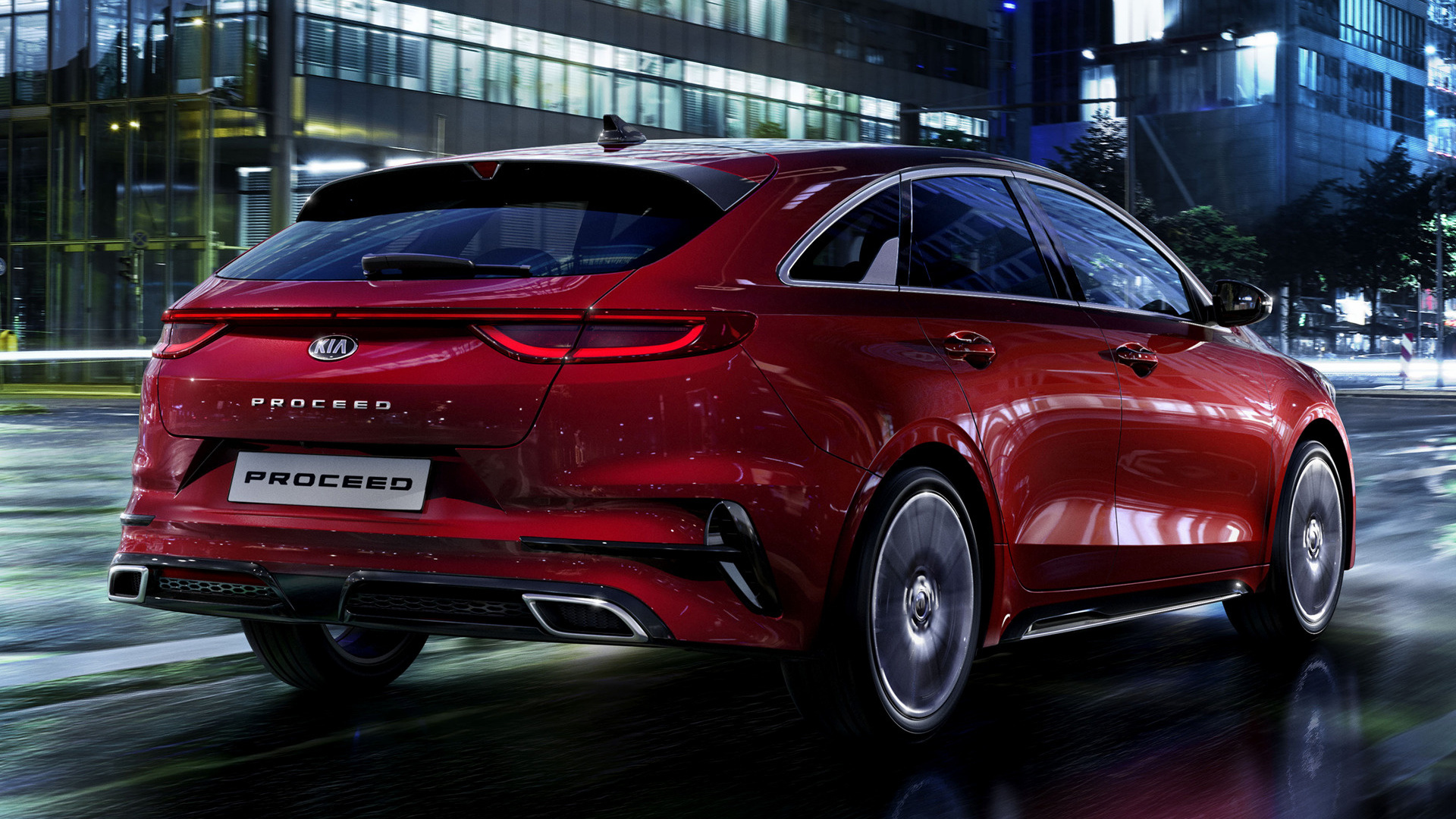 2019 Kia Proceed Gt Line Wallpapers And Hd Images Car