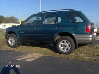 2000 Isuzu Rodeo Pictures 2200cc Gasoline Fr Or Rr