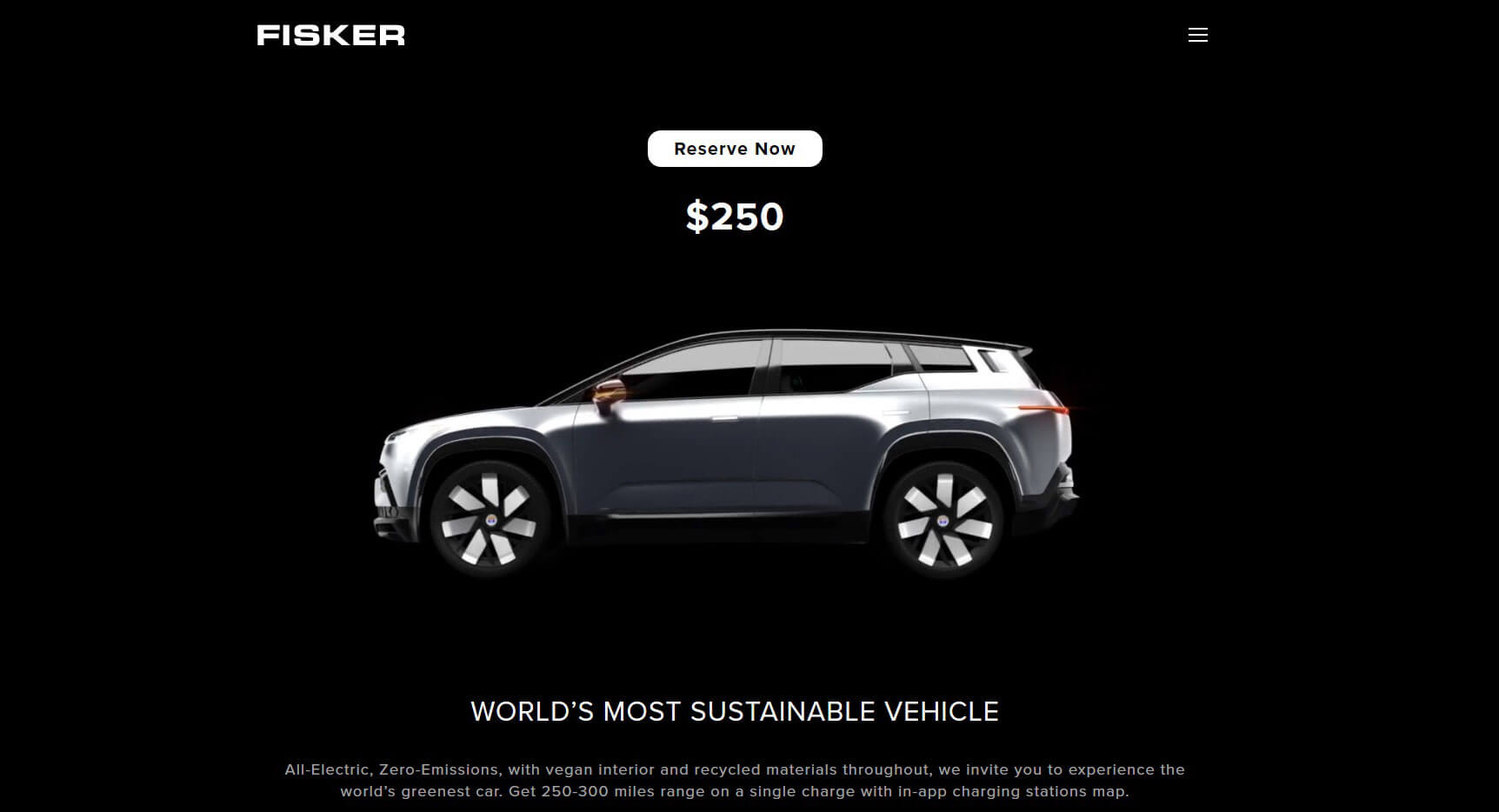 You Can Now Reserve Fisker S Ocean Electric Suv With Just