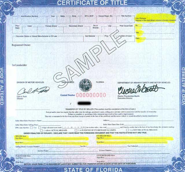Florida Registry Motor Vehicles Hours