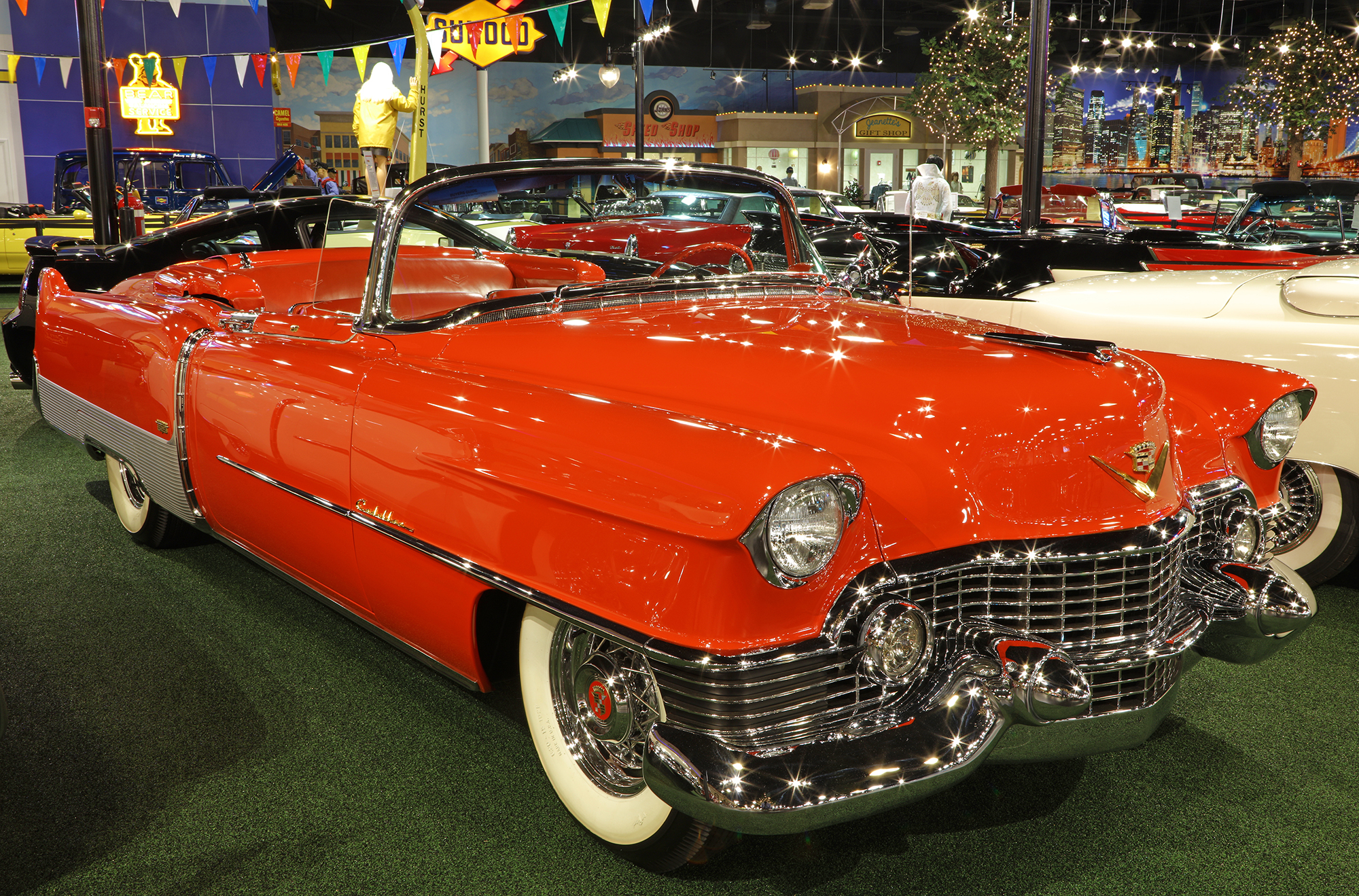 1954 Cadillac Eldorado Convertible   Welcome to Cars of Dreams Museum Related