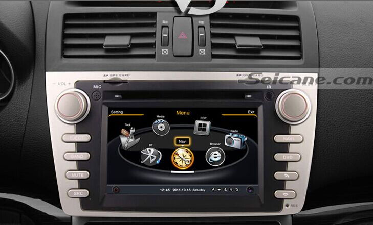 6 2010 Aftermarket Radio Mazda