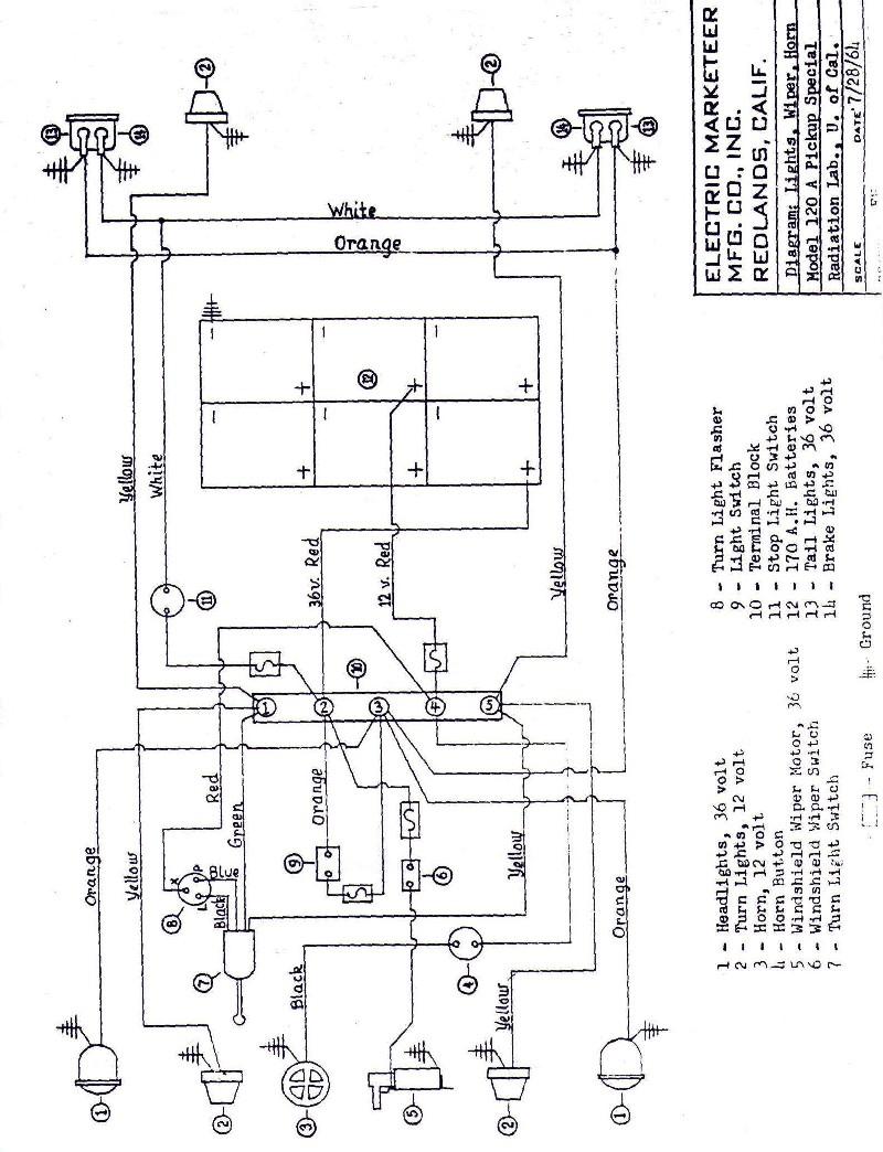 Taylor Dunn Cart B0 248 48 Wiring Diagram Battery