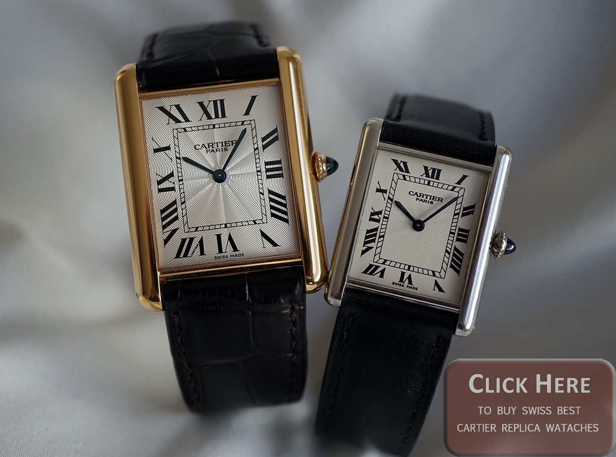 Our Biggest Sale On Swiss Replica Cartier Tank Watches