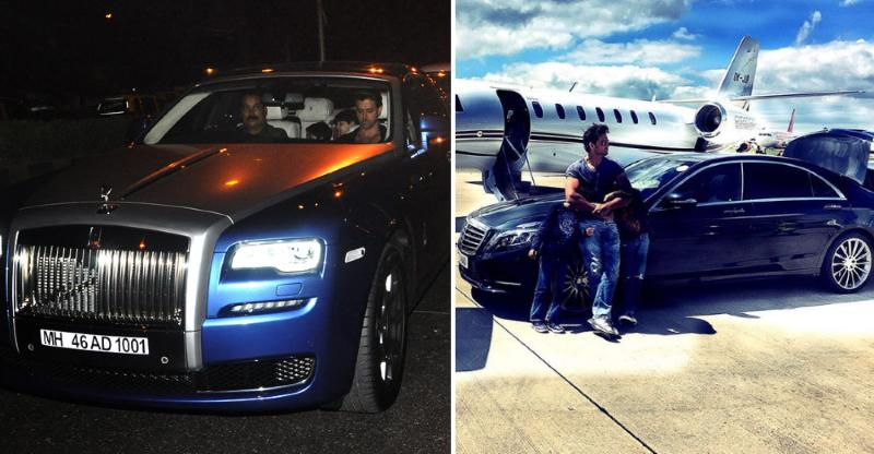 Hrithik Roshan S Cars 8 Expensive Cars Including Rolls Royce Amp Maybach