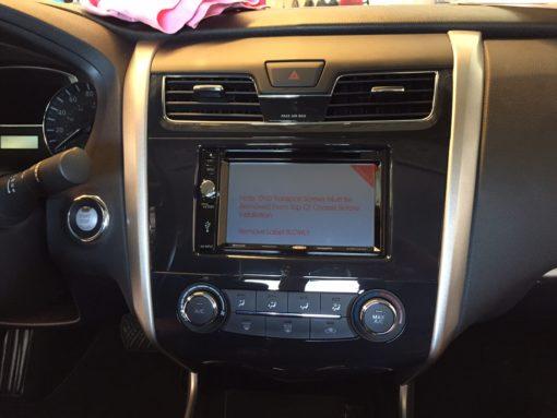 Flip Down Car Stereo
