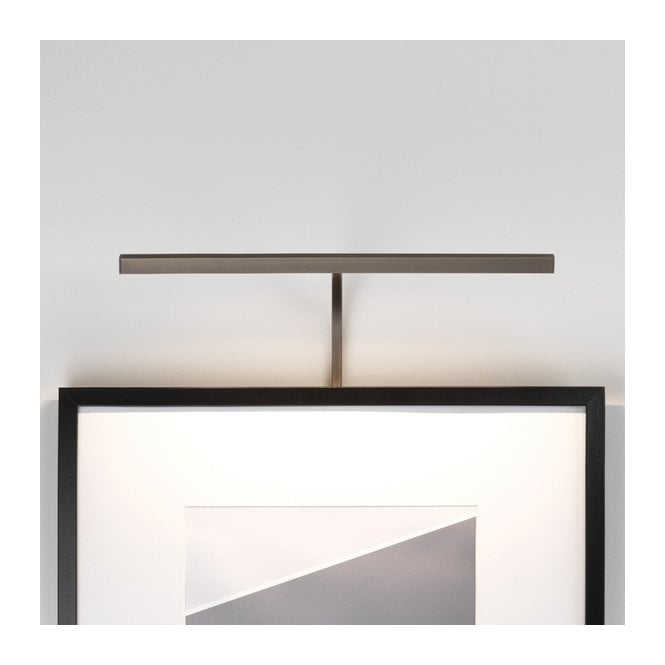 Picture Lights Attached Frame