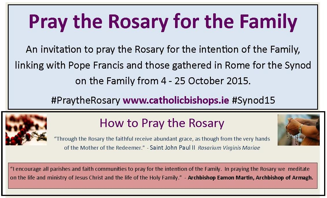 Pray the Rosary for the Family | Irish Catholic Bishops ...