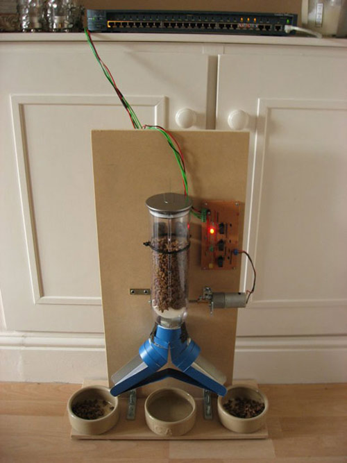 Web Enabled Cat Feeder W Video Feed Catster