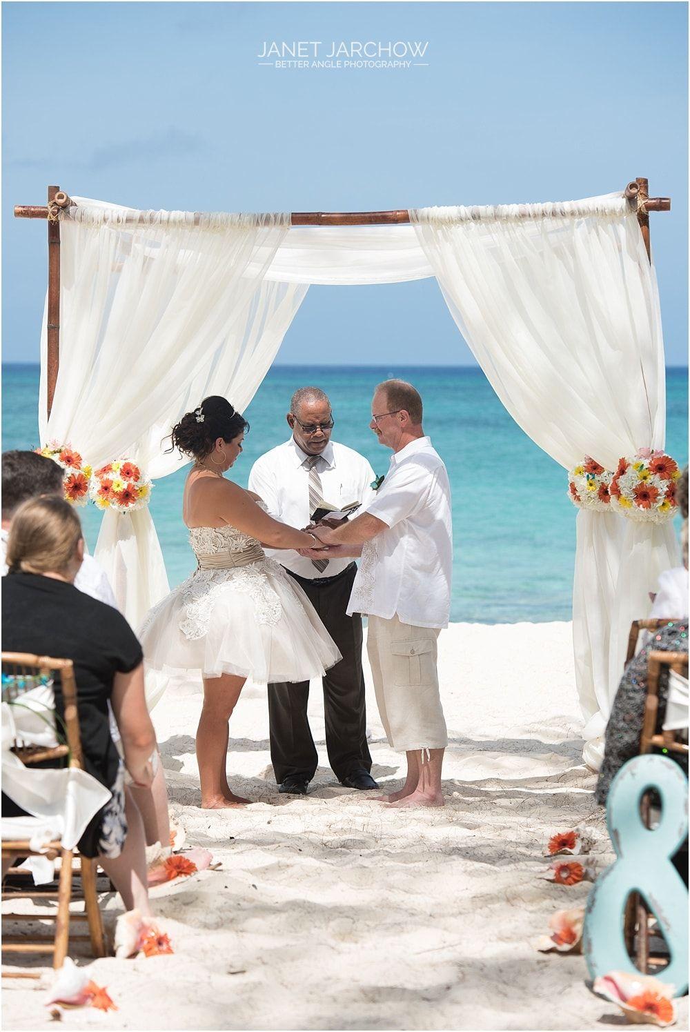 Beach Wedding Bubbles