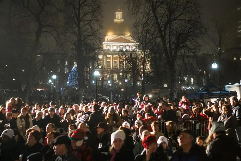 Boston Tree Lighting Ceremony