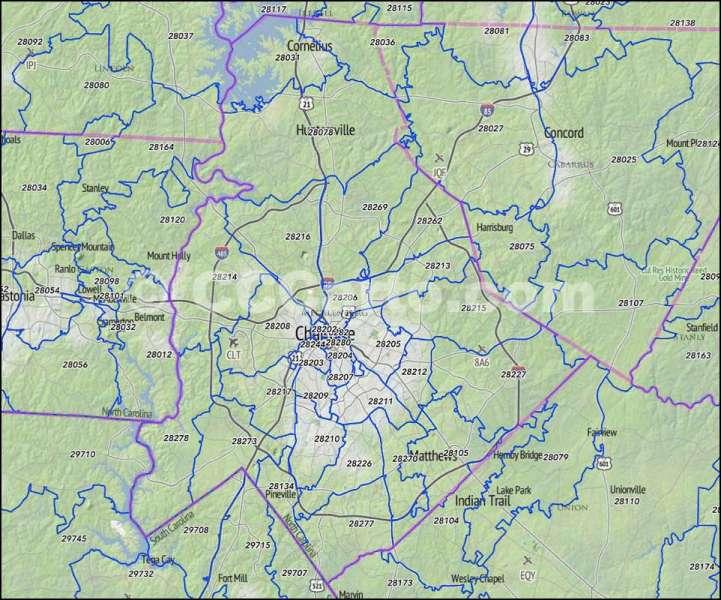 Map charlotte nc full pixel full wallpapers mecklenburg county map charlotte nc zip codes mecklenburg county nc zip code map publicscrutiny Images