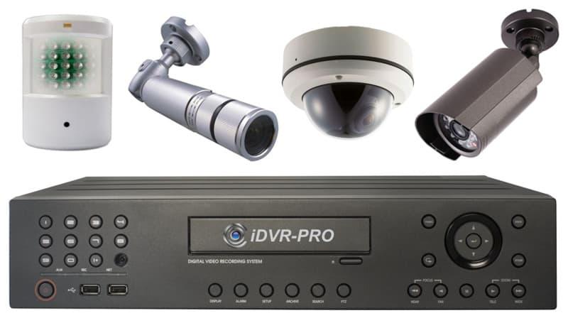 Dvr Recorder Security Cameras