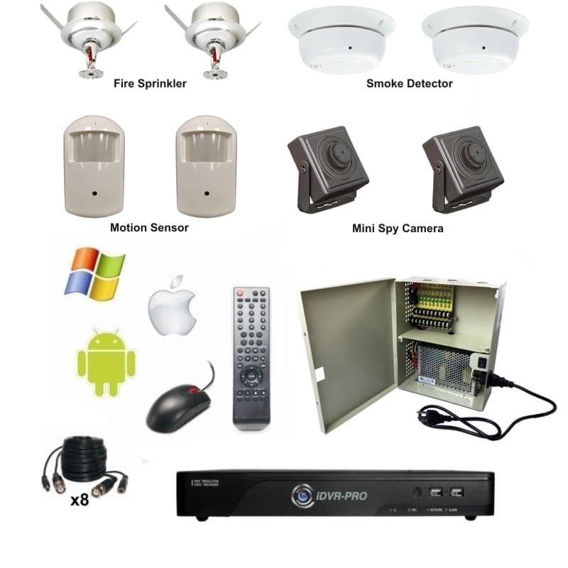 Home Systems Security Camera Wireless 8