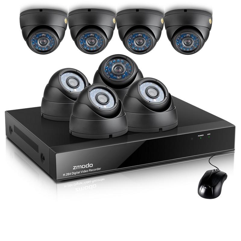 Wireless Dvr Camera Zmodo System Security